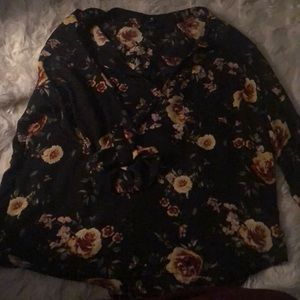 Rue 21 See through polyester blouse